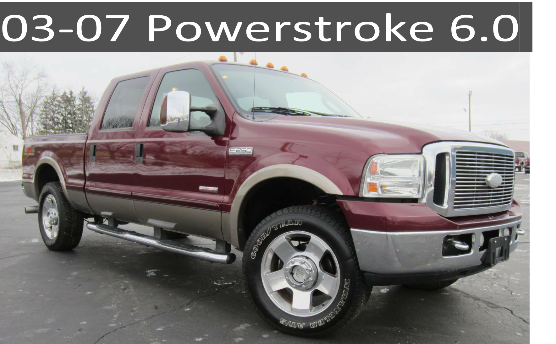 03-07 Ford 6.0 Powerstroke Diesel Parts