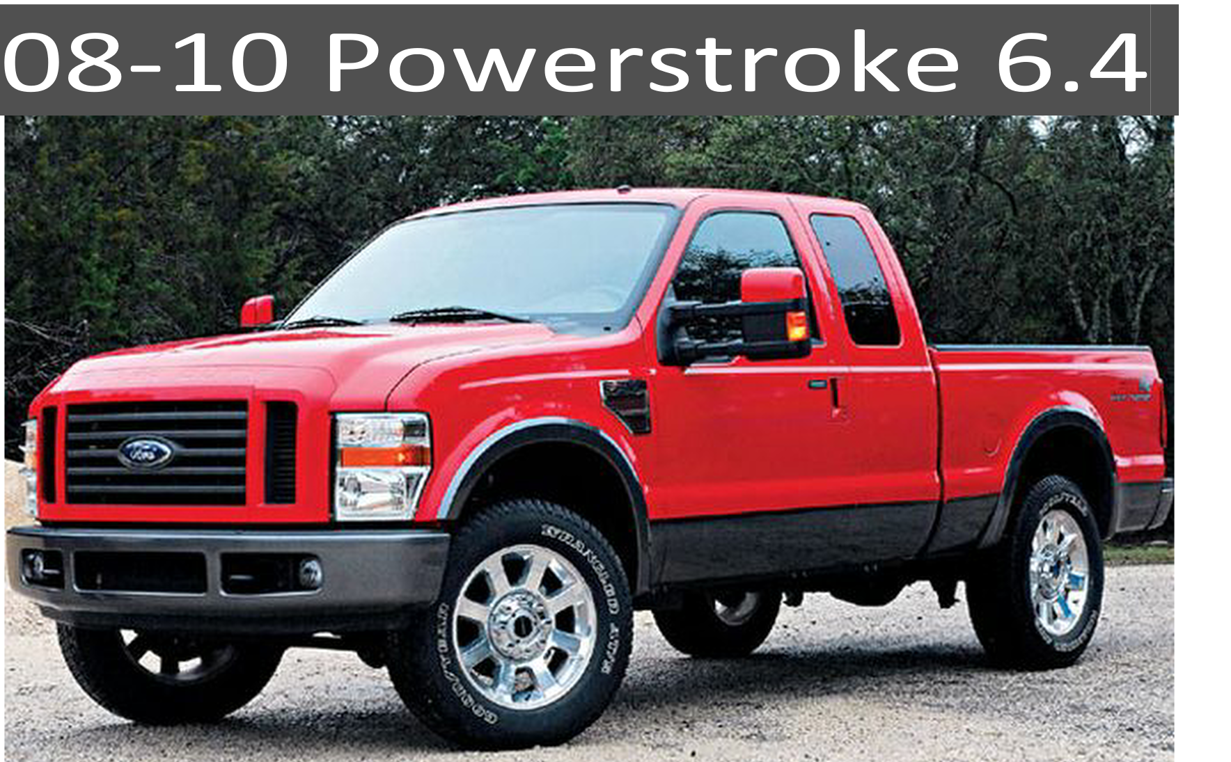 Ford Powerstroke Repair and Performance Parts Power Stroke