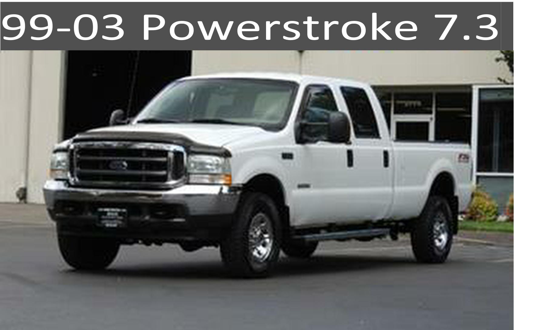 99-03 Ford 7.3 Powerstroke Diesel Parts