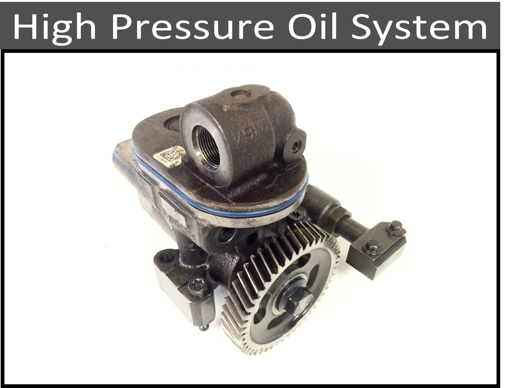High Pressure Oil System Parts