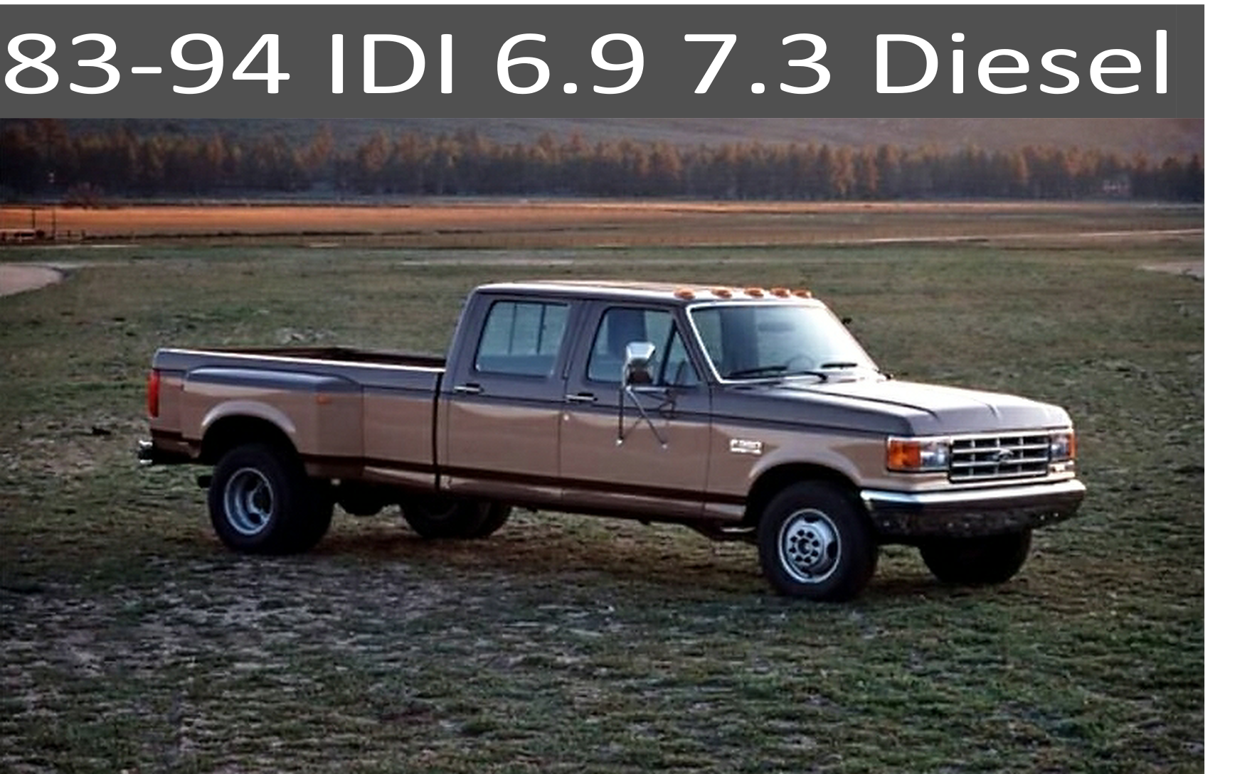 83-94 Ford IDI 6.9 and 7.3 Diesel Parts