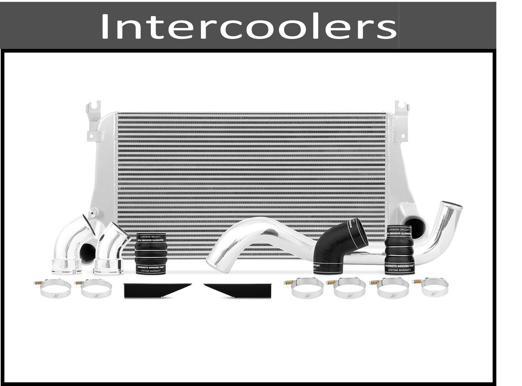 Intercoolers, Boots, and Piping